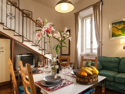 Photo for Cozy Charming Quiet Studio a few meters from Villa Borghese - a/C, Wifi, TV SaT