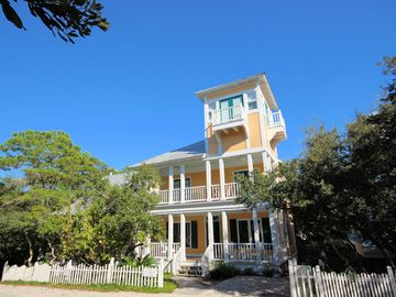 "In Seaside Proper ""Coquina"" 2 bedroom with Tower - Sleeps 6!"