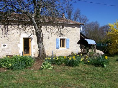 Photo for Pet friendly-family friendly two bedroomed rural Gite in a quiet hamlet