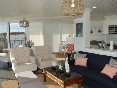 Photo for Our House at the Beach W-301 Coastal decor with view!
