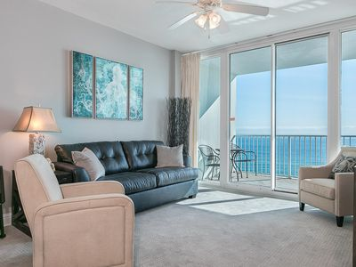 Photo for Charming Condo with Lovely Gulf-Front View, Community Pools/Hot Tub, Perfect for the Whole Family!