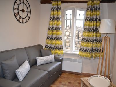 Photo for Beautiful flat in the historical center of Antibes, between Nice and Cannes