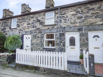 Photo for 2 WHITE STREET, pet friendly, with open fire in Penmachno, Ref 966238