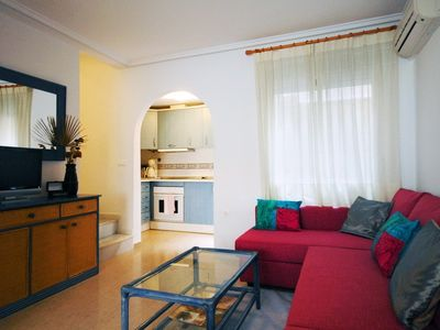 Photo for Come & enjoy our lovely fully AC WiFi house incl. English & all Europe TV channe