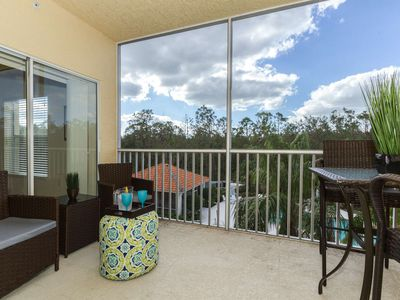 Photo for Coral Falls condo w/incredible views of the pool/spa from private & well decorated screened lanai!