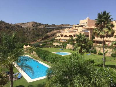 Photo for Beautiful 2 Bed Apartment in Secure Gated Complex