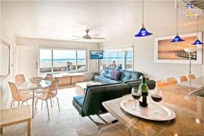Gorgeous Living Room, Gorgeous View Mission Beach, San Diego Vacation House Rental