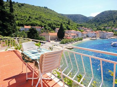 Photo for Studio flat near beach Račišće, Korčula (AS-4341-a)