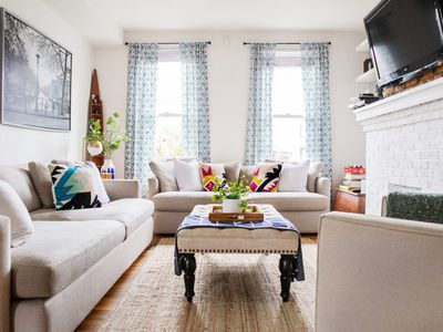 Eclectic Short North Home - Free Parking, Private Backyard, Walk to All