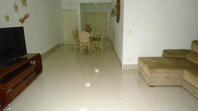 Photo for Apartment, Pitangueiras Beach, Fino end. 4 bedrooms s / 2 suites, view to the ma