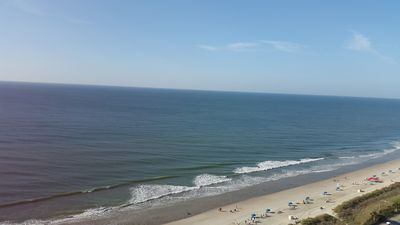 Photo for Bright, cheery Direct OceanFront 3-Bedroom Condo