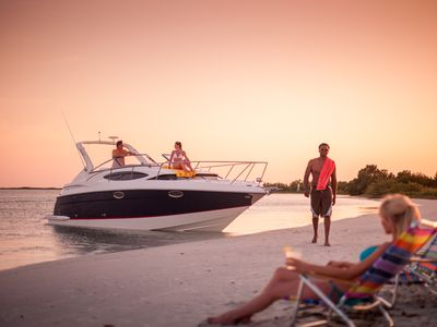 Photo for 30' Regal Cruiser;  boat rental for DAY TRIPS ONLY with captain for only 990.