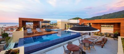 Photo for Condo Pavilion 206 in Romantic Zone with rooftop pool and Ocean/Mountain views!