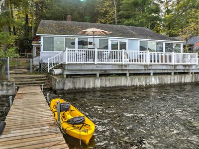 Photo for NEW-Pet-Friendly Berkshires Home w/Dock & Fire Pit