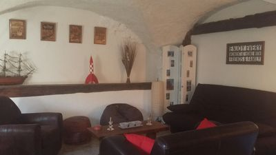 Photo for Apartment 5/7 people in stone cottage at the foot of the slopes
