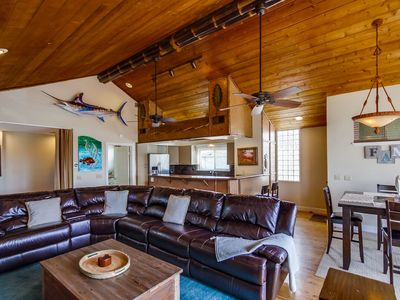 Modern Family Beach Home by 710 Vacation Rentals | AC, Private Garage & Sun Deck