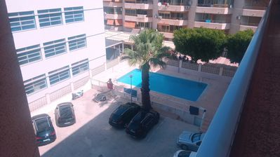 Photo for Apartment with pool 500 m from the beach
