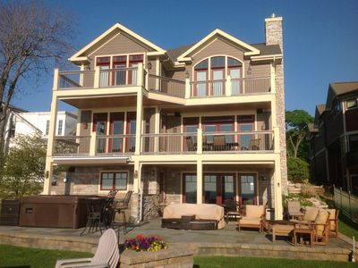 Fabulous South Haven New Home On Stunning Beach ~ Private Beachfront