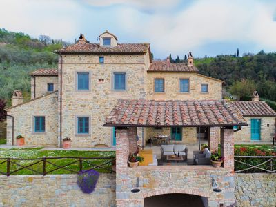 Photo for Pictureque Holiday in Cortona with Swimming Pool