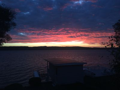 Photo for Year round home with gorgeous sunsets, 4 miles from Skaneateles village