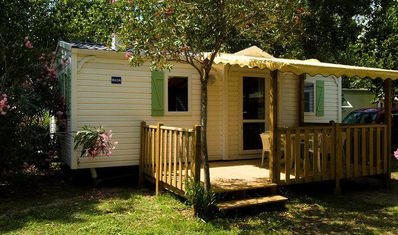 Photo for Camping Marina d'Erba Rossa **** - Mobile home Air-conditioned villa 3 rooms 4 persons