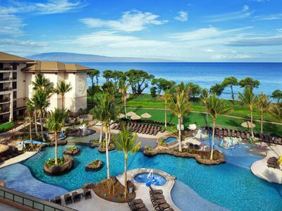 Photo for New 3 Bedroom Beach Front Villa in Lahaina.