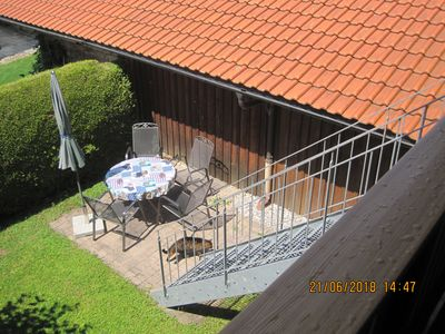 Photo for quiet apartment with mountain views near Chiemsee
