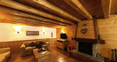 Photo for Chalet Odalys de Marie **** - 6 Rooms Chalet 12 People
