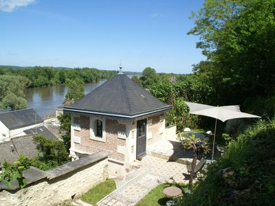 Photo for Splendid holiday home in lovely Amboise with a view of the Loire