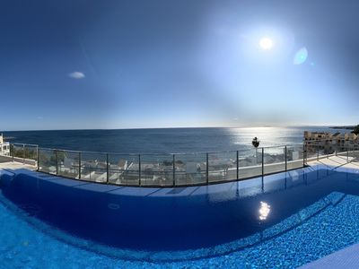Photo for Penthouse with panoramic views of the Marbella Sea at the Rock of Gibraltar