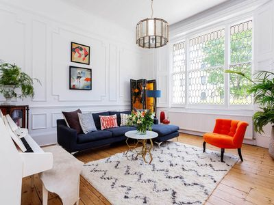 Photo for Elegant and sophisticated 3BR with garden, next Regent's Park, by Veeve