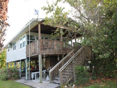 Photo for 2 minute walk to the beautiful Gulf of Mexico, great fishing, outstanding sunsets - formerly id# 233479