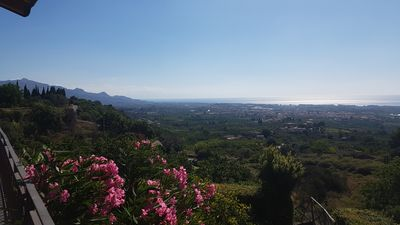 Photo for Beautiful Cottage in the Countryside on the Bay of Taormina