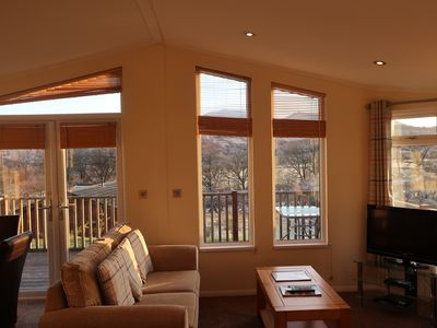 Photo for Escape Range Colonsay 2 Bedroom Self Catering Lodge