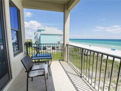 Photo for Gorgeous Gulf Front Unit, Newly Remodeled, Spectacular Views, Dune Allen Beach