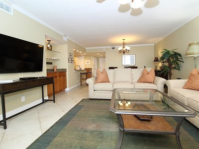 Photo for SeaSpray East 922- Beach Front Views from Terrace with Luxurious Interior!