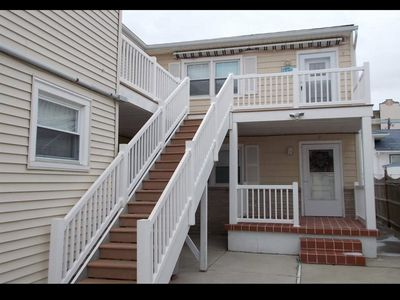 Photo for Beach Block - Steps to the beach! Completely renovated & first time rental
