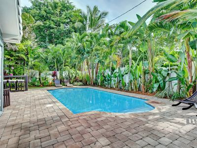 Photo for Stunning Modern Tropical Pool Home in the heart of Fort Lauderdale!