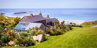 Photo for Castaways, Cottage With Sea Views, Lush Gardens & Patio By the Beach