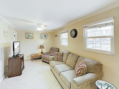 Photo for New Listing! All-Suite Downtown Condo - Steps to the Beach