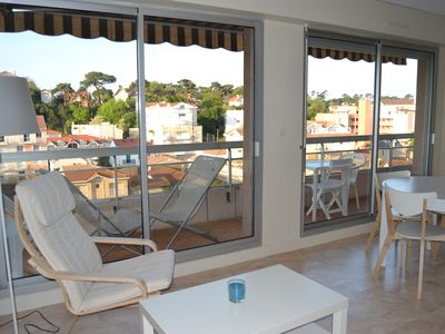 Photo for Arcachon, spacious apartment of 44m², 1 bedroom, 100m from the beach