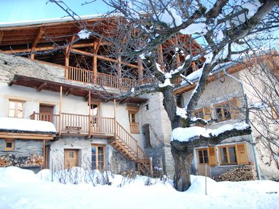 Photo for Detached house at 1200m altitude, facing south, quiet and spacious