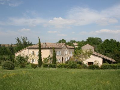 Photo for Lovely gîte with swimming pool on a 250-year-old winery, perfect for couples!