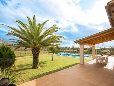 Photo for Inviting villa in Porto Cristo (Mallorca) for 6 people, with private pool.