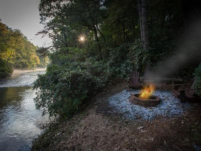 Photo for Explore at Bear Rapids On The Cartecay as you relax and unwind in the heart of the Appalachians.  No