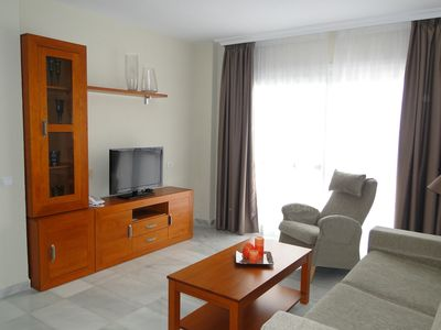 Photo for Cool and sunny apartment, very close to the beach.