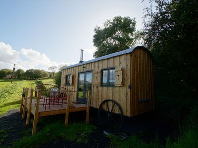 Photo for A glamping cabin inspired by a railway carriage, The Mallard makes an ideal romantic retreat in the