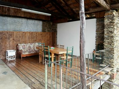 Photo for Cosy apartment for 4 guests with TV, balcony, pets allowed and parking