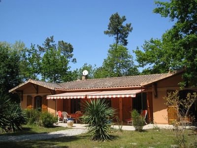 Photo for Spacious country house on a 4,000 m2 property, 3 km from the Atlantic