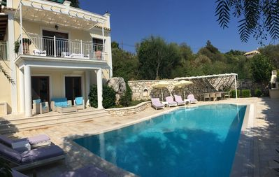 Photo for 4BR Villa Vacation Rental in Kassiopi, Corfu